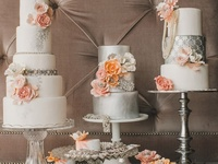 Wedding cake,cupcake, sweets and cake display table ideas.