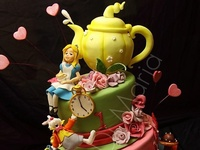 Cakes - Alice in Wonderland