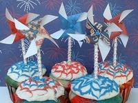 Patriotic Cakes & Cupcakes
