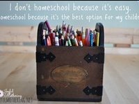 I taught 3rd and 1st grades, and really enjoyed it. Recently, I have decided to homeschool my children.   I'm always looking for inspirational ideas to make the lessons more fun and interesting.