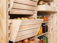 Canning Pantry Root Cellar and Cold Storage