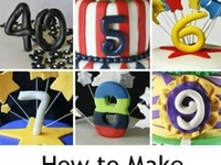 Fondant: LETTERS & numbers