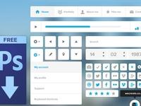 GUI PSD Piece/Sets/Kits
