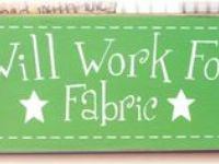I LOVE FABRICS.......... I wish I owned a store....Then I could pick all the fabrics I like.....And sell them to other Fabric loving people....Will that be 1 yard or 2??????