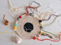 craft - weaving, rag rugging, basketry...