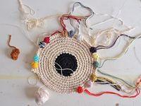 craft - weaving, rag rugging, basketry...
