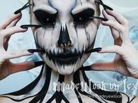 Makeup of various forms that inspire me or are just awesome!