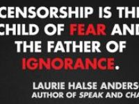 Fight censorship, read a banned or challenged book. Better yet, read many!!