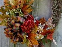Wreaths/Swags ~ Fall