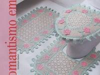 Crochet Bathroom Decor