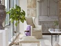 Living rooms, sitting rooms and entry ways and special pieces of furniture