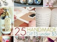DIY gifts/gift ideas