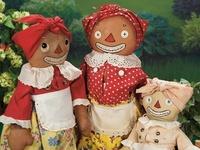 Old Cloth Dolls