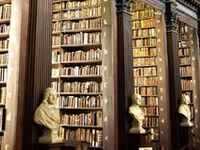 I adore home libraries. I dream of having one. Or several. Such obsession deserves a board of it's own.