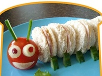 The Little Engineer loves making fun food  with me -- and I love finding ideas for all natural, food-coloring free, vegetarian meals and snacks that will make him smile.