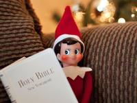 Elf On The Shelf Jesus Style on Christmas Ideas On Pinterest