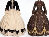 A collection of fashions worn through the ages