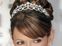 Beautiful hairstyle inspirations for weddings, proms, home coming, cotillion, sweet sixteen, quinceaneras or other formals.