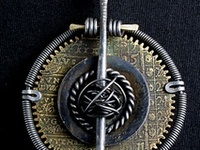 Found, altered and recycled objects jewelry