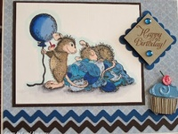 Cards - House Mouse