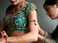 indian wedding fashion hair and makeup