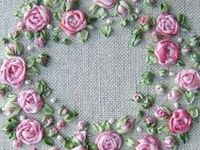 Embroidery, Silk & Crazy Quilt