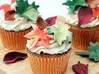 Autumn Cupcakes on Pinterest   Pumpkin Cupcakes, Thanksgiving Cupcakes ...