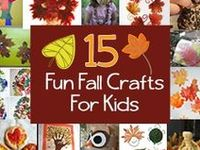 Fall Goodies and Craft