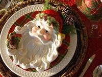 I love setting a beautiful Christmas Table.