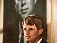 Short, but passionate, Bobby Kennedy emerged from the shadow of his brothers after the assassination of JFK.   Coming into his own right as an individual, he was cruelly cut down by an assassin's bullet in June 1968.