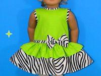American Girl Dresses - Sleeveless
