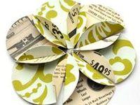 Design inspiration for paper crafts.