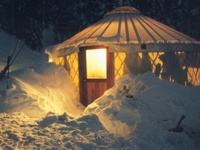 YURTS TO DIE FOR