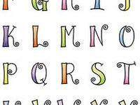 1000+ images about Lettering & Printables on Pinterest | Alphabet ...