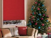 Festive tones on pinterest roller blinds red chairs and feature