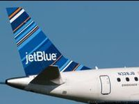 Jetblue Baby:  Our Airline of Choice, of course (hint: hubby is a pilot for them)!!!
