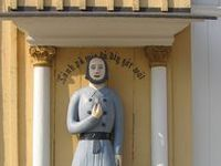 """Fattiggubbar/Vaivaisukkoja - Finland / The welcoming poor man statues (""""men-at-alms"""") outside churches in Finland tell a story of poverty and needs and give a hint about how the situation was handled in the parishes in past years. - Welcome to visit Finland!"""