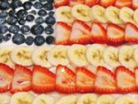 Red, White and Blue ideas for the 4th of July.