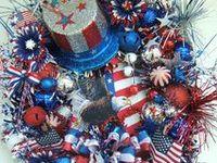 Wreaths,Patriotic