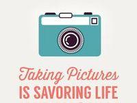 inspirational photos, tutorials, ideas, gifts for photographers etc