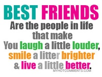 I have amazing friends!! These are just a few awesome sayings and quotes for them and about them <3 #friends