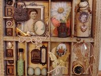 CRAFT - shadowboxes, clipboards, printers trays etc