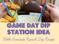 Easy game day recipes.