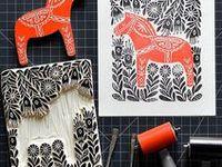 Woodcut & Linocut