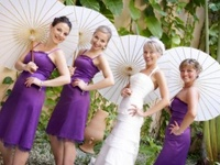 weddings . shades of purple