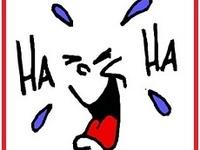 """Funny """"hah, hah""""!"""