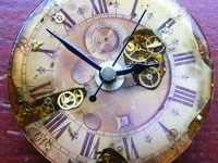 Clocks, watches, clock faces, time