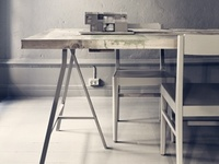 Inspiration for your office, atelier, workspace, collected by Stylingsinja