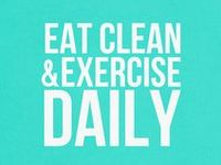 workout & eat healthy