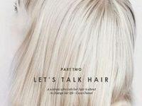 Let's talk hair